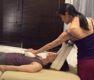 SmartSpine neck treatment スマートスパイン 首のトリートメント