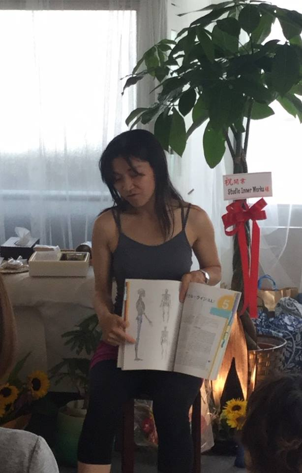 studio openingevent Tomoko スタジオオープニングイベント トレーナー写真