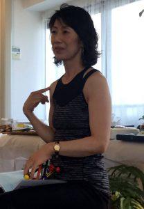 studio opening event trainer オープニングイベント トレーナーKiyomi写真