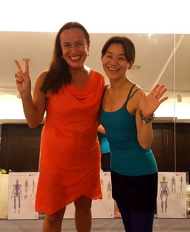 イタリアからお客様 Anna&Husband Italy Doctor Pilates Teacher