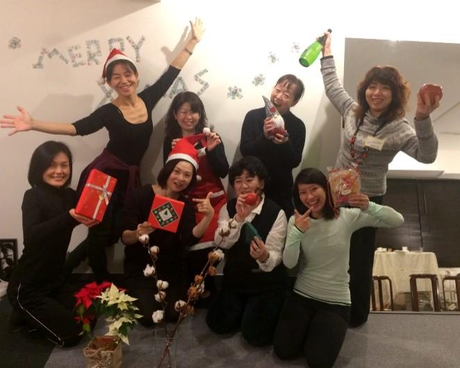 xmas event photo クリスマスイベント 集合写真