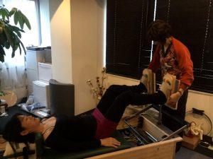 Pilates Equipment Machine Excecise handson Reformer ピラティス マシン エクササイズ ハンズオン リフォーマー
