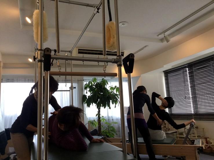 Pilates Equipment Machine Excecise Trial ピラティス マシン エクササイズ 体験会