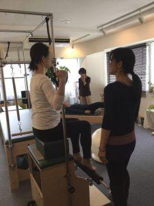 Pilates Equipment Machine Excecise Trial Maternity ピラティス マシン エクササイズ 体験会 マタニティ