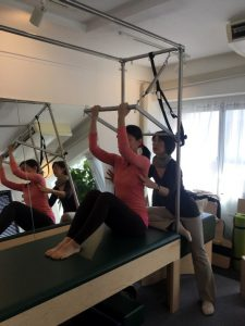 Pilates Equipment Machine Excecise Trial Trapeze ピラティス マシン エクササイズ 体験会 トラピーズ