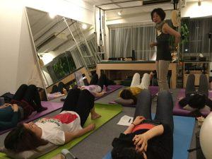 Trainer Studymeeting Pilates Yoga Instructor Fascia Breath Spine Movement トレーナー 勉強会 ピラティス ヨガ インストラクター 筋膜 呼吸 背骨 ムーブメント