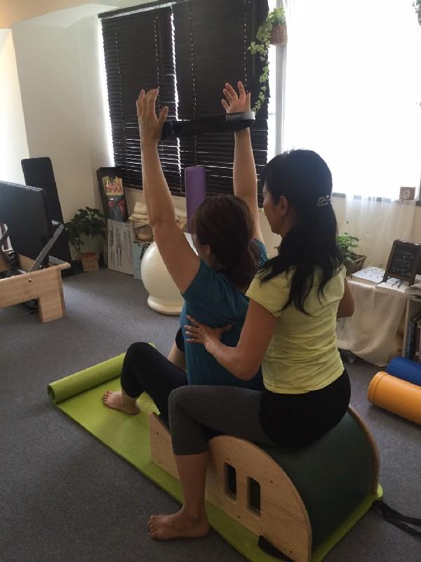 マシンプライベート体験 イベント Atsumi 写真 ピラティス Studio Private Pilates Equipment Photo