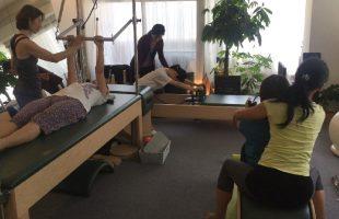 マシンプライベート体験 イベント 写真 ピラティス Studio Private Pilates Equipment Photo