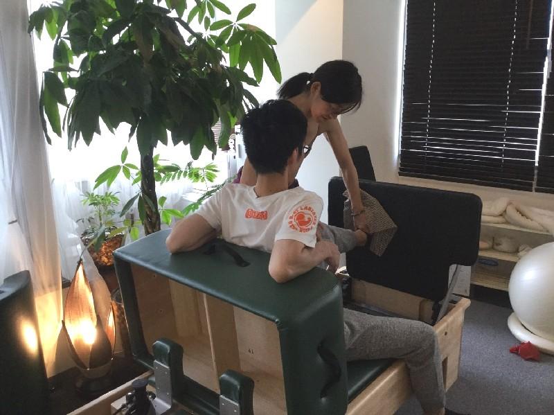 マシンプライベート体験 イベント Tomoko 写真 ピラティス Studio Private Pilates Equipment Photo
